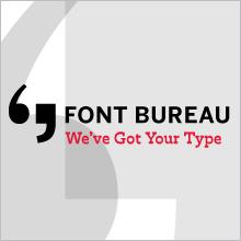 Font Bureau Ad