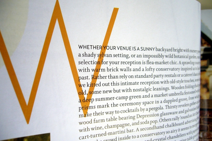 "Brides Magazine: 2006 ""Receptions"" Special Issue 4"
