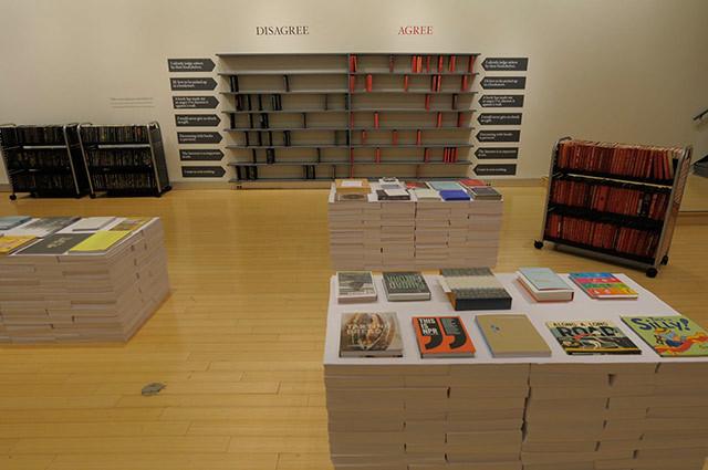 2010 AIGA 50 Books/50 Covers Exhibition 1