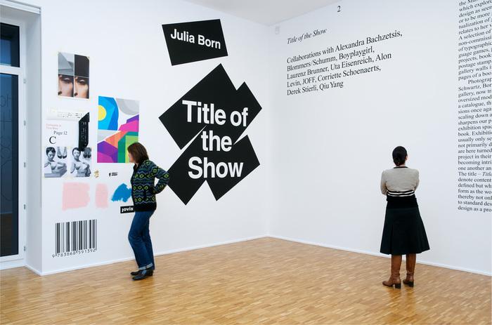 Julia Born: Title of the Show