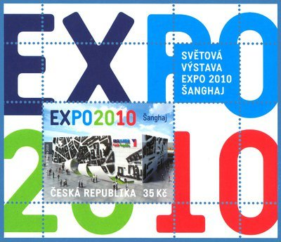 """""""Expo 2010"""" Stamp from the Czech Republic"""