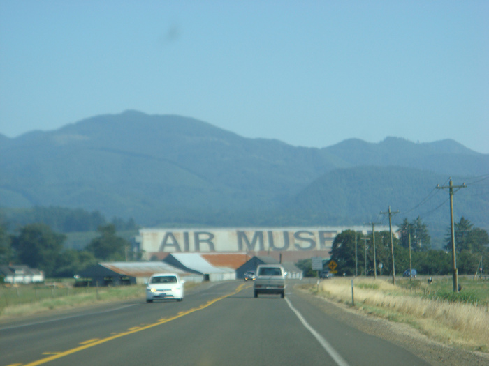 Tillamook Air Museum (World's Largest Helvetica) 2