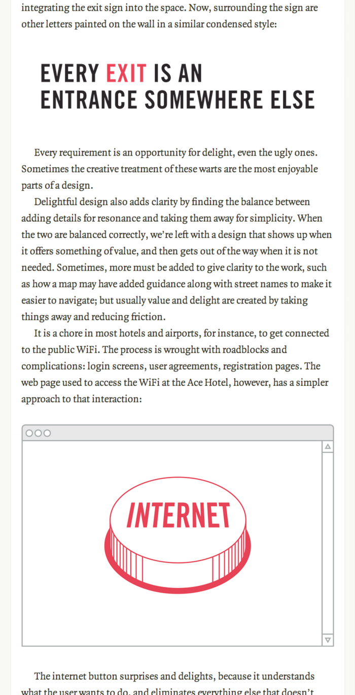 The Shape of Design website and online edition 2
