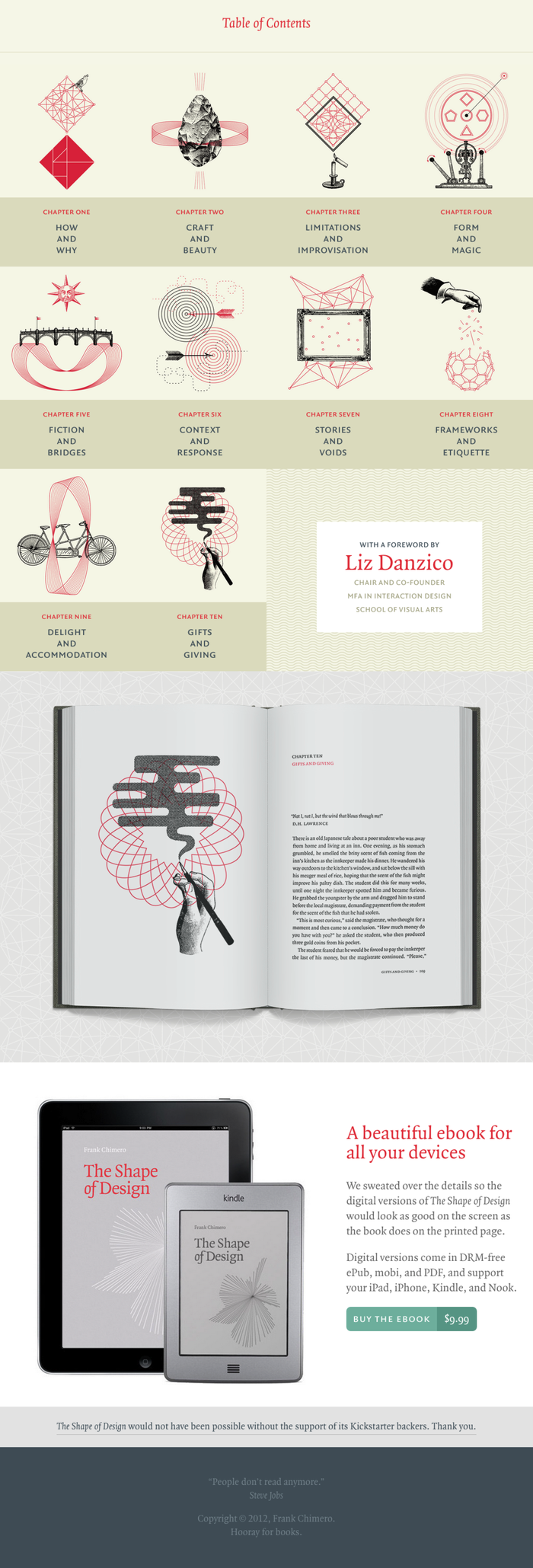 The Shape of Design website and online edition 3