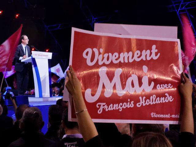 François Hollande 2012 Presidential Campaign 2