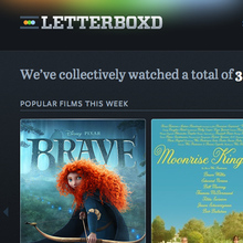 Letterboxd website (2011–2013)