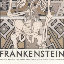 <cite>Frankenstein</cite> movie poster