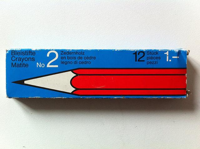 Swiss Pencil Packaging
