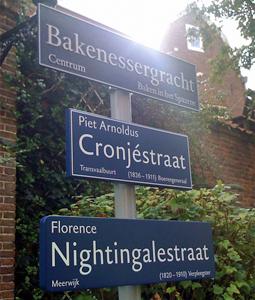 Street Signs in Haarlem (NL) 1