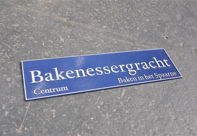 Street Signs in Haarlem (NL) 2
