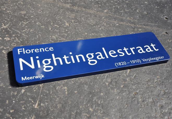 Street Signs in Haarlem (NL) 4