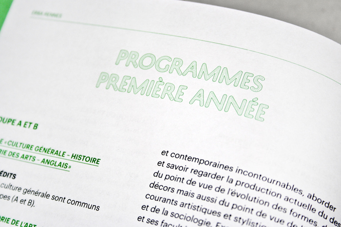 Rennes School of Art catalogue 3