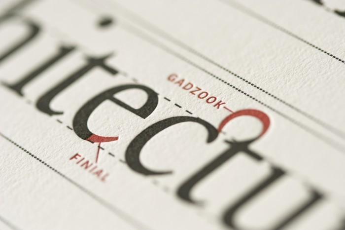 Typographic Anatomy Poster 5