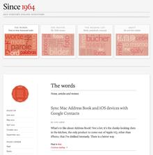 <i>Since 1964</i> blog