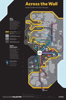 Bus Routes of Greater Israel/Palestine