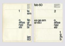 <i>Typografische Monatsblätter</i>,  Nos. 1–7