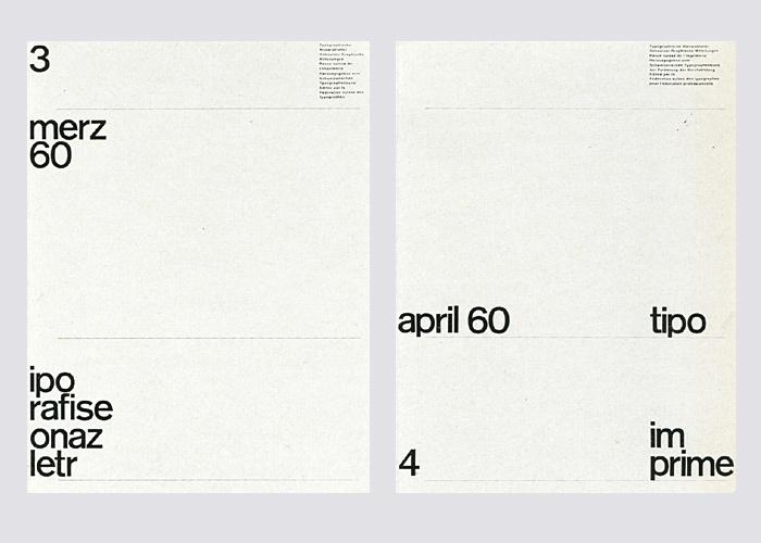 Typografische Monatsblätter,  Nos. 1–7 2