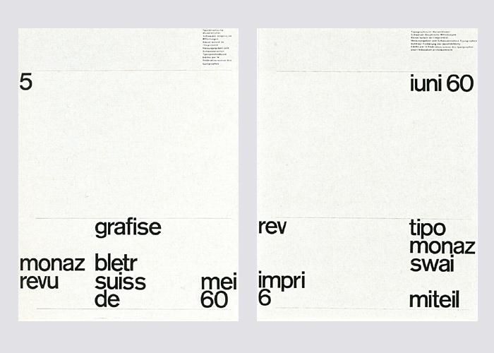 Typografische Monatsblätter,  Nos. 1–7 1