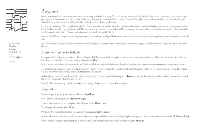 Rebenque's web page 1