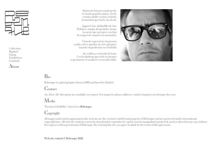 Rebenque's web page 2