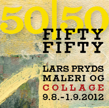 <cite>Fifty/Fifty</cite> exhibition posters