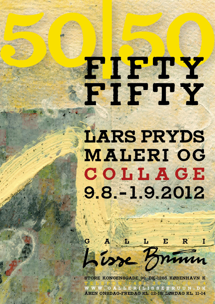 Fifty/Fifty Exhibition Posters 1