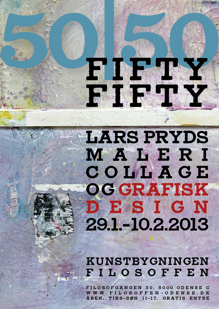 Fifty/Fifty Exhibition Posters 3
