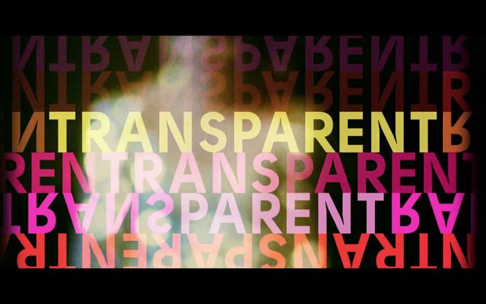Transparent TV series 1