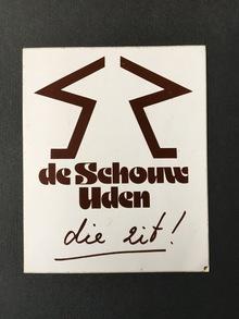 De Schouw Uden sticker