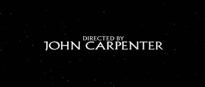 Berthold Wolpe's Albertus typeface played a recurring role for credits in a variety of John Carpenter's films.