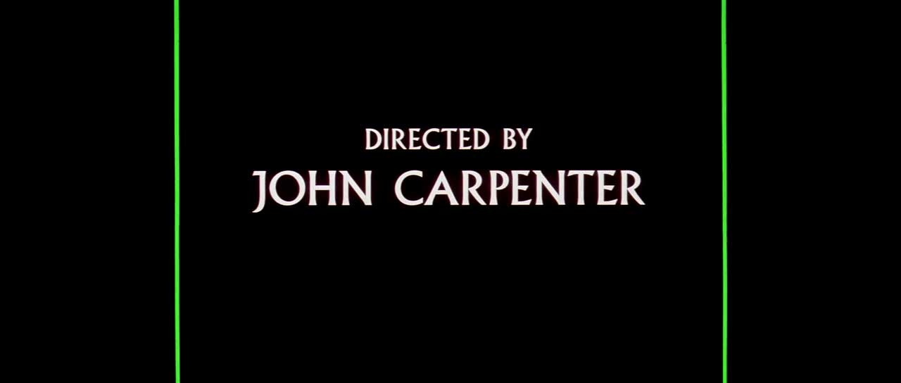 Directed by John Carpenter - Fonts In Use