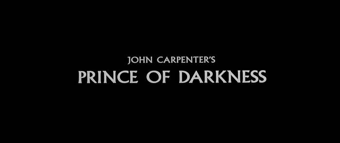 Prince of Darkness movie titles 1