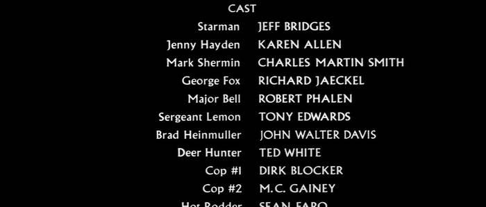 Starman movie titles 6
