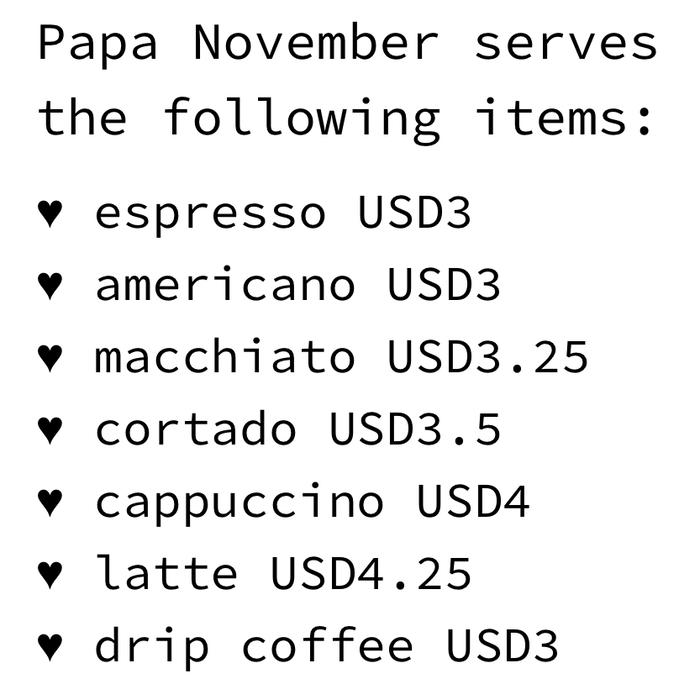 Papa November website 2