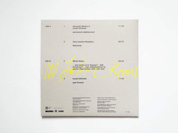 past forward – 100 years Kunstverein Baden 3