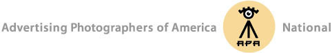 Advertising Photographers of America (APA) logo 2