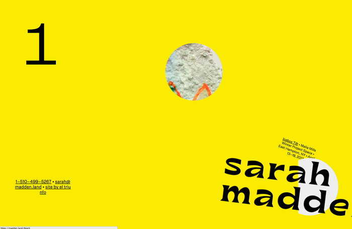 Sarah Madden website 2