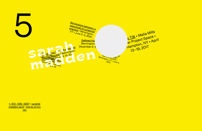 Sarah Madden website 1