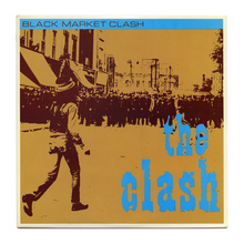 The Clash – <cite>Black Market Clash </cite>album art
