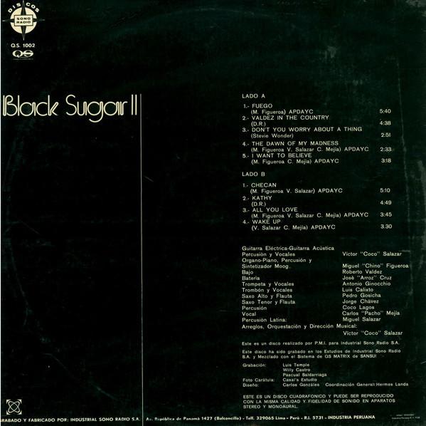 Black Sugar – Black Sugar II album art 3