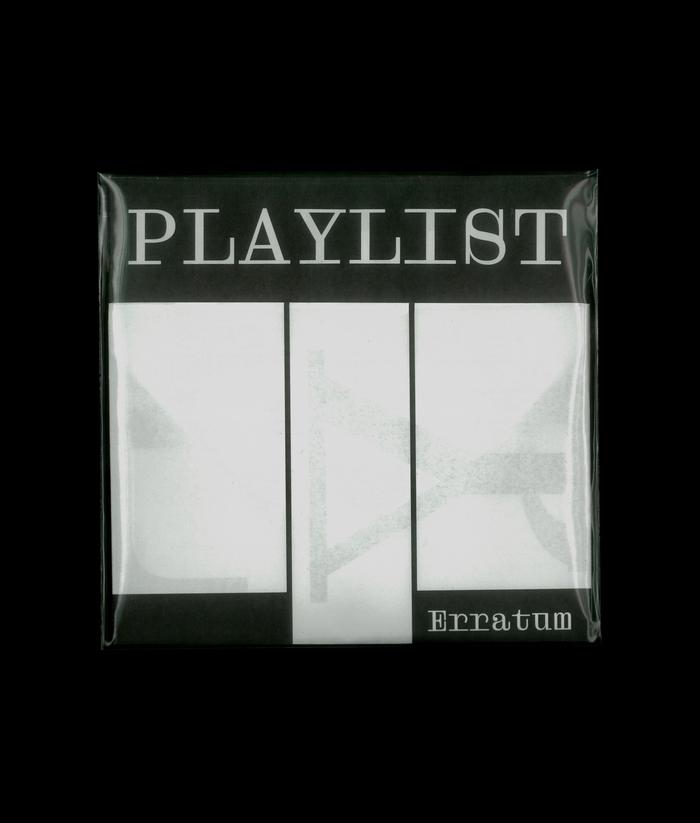 Playlist at Erratum Galerie 3