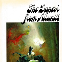 <cite>The Dancer from Atlantis</cite> (Nelson Doubleday first book club edition)
