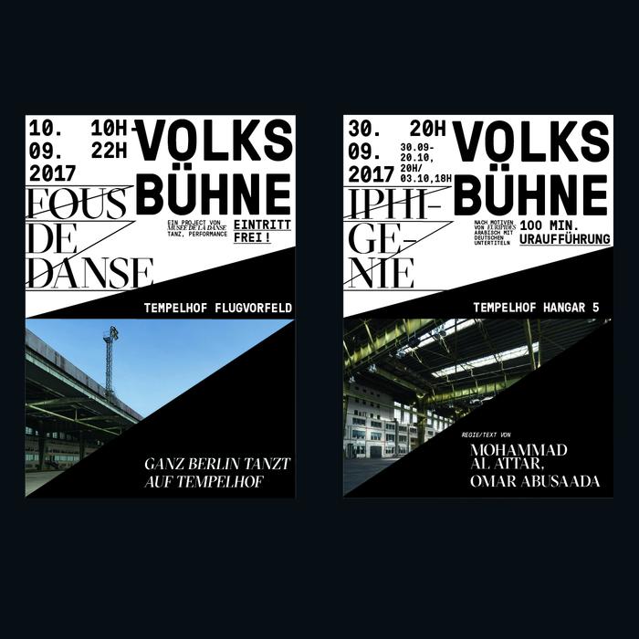 Volksbühne Berlin fictional identity 1