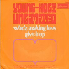 Young-Holt Unlimited – <cite>Who's Making Love / Give It Up</cite>