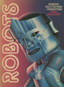 <cite>Robots: Fact, Fiction + Prediction</cite> book cover