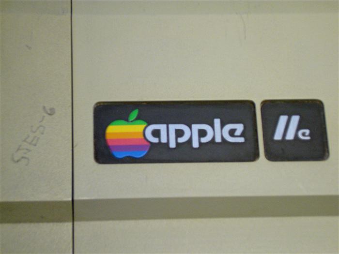 Logo on the Apple //e (1983)