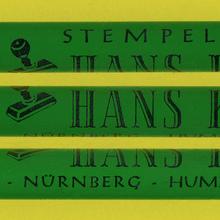 Stempelfabrik Hans Kappl pencil