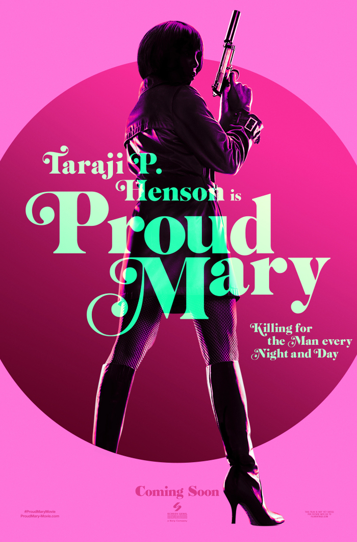 Proud Mary teaser posters 2
