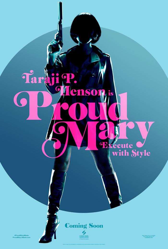 Proud Mary teaser posters 3