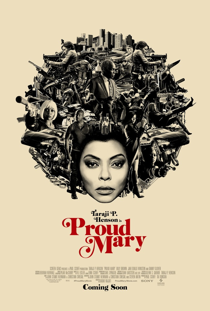 Proud Mary teaser posters 1